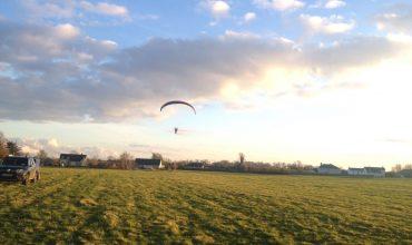 Paramotor take off